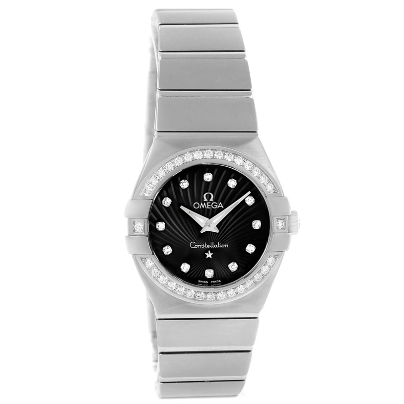 "Image of ""Omega Constellation 123.15.27.60.51.001 Stainless Steel wDiamond"""