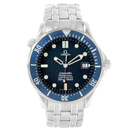 Omega Seamaster 2531.80.00 Stainless Steel Blue Dial Automatic 41mm Mens Watch