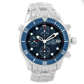 Omega Seamaster 2599.80.00 Stainless Steel & Blue Dial 41.5mm Mens Watch