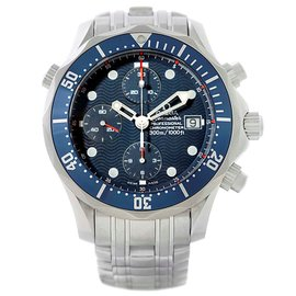 Omega Seamaster 2599.80.00 Stainless Steel Blue Dial Automatic 41.5mm Mens Watch