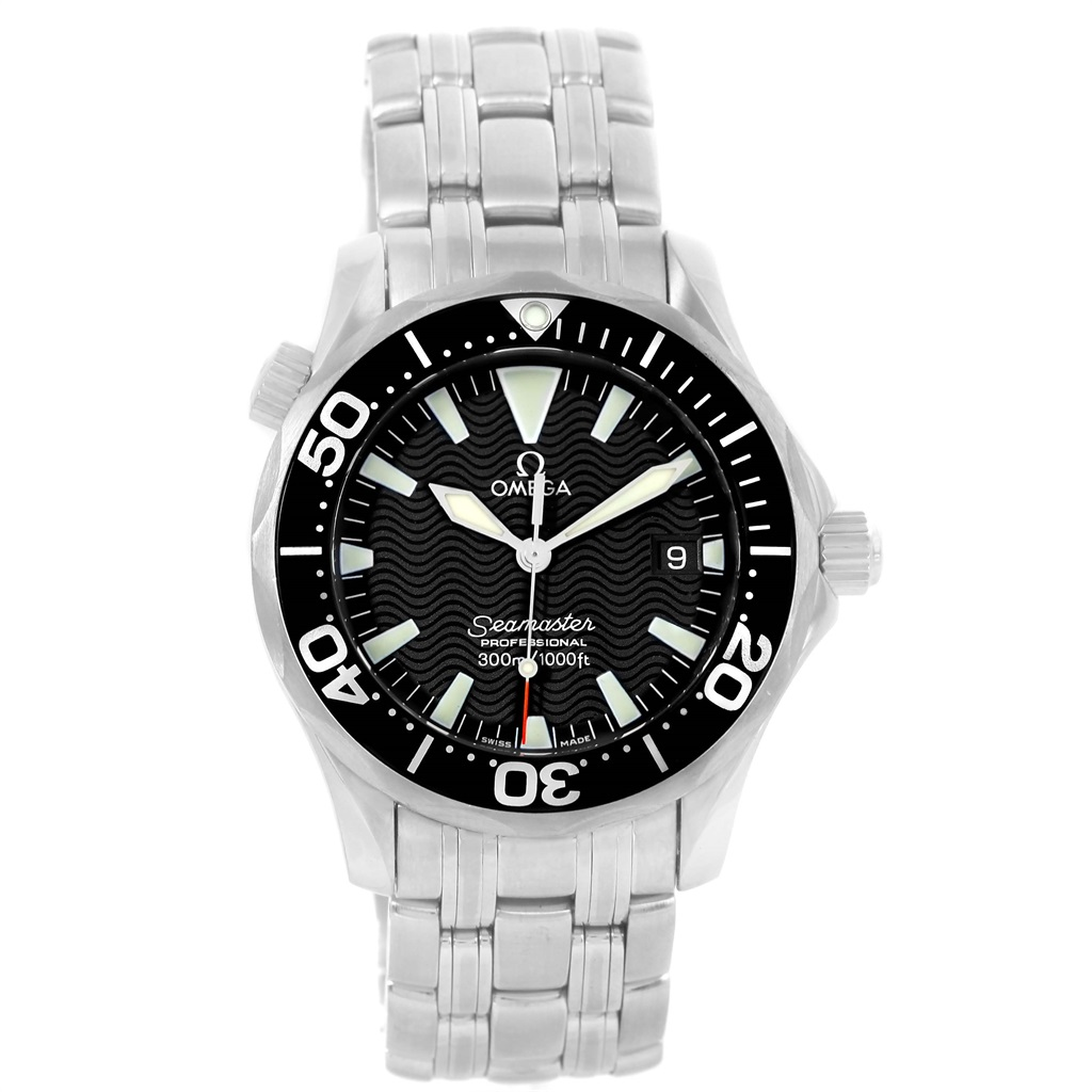"""Image of """"Omega Seamaster 2262.50.00 Stainless Steel & Black Dial 36.25mm Mens"""""""