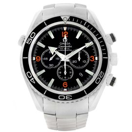 Omega Seamaster Planet Ocean 2210.51.00 Stainless Steel 45mm Mens Watch