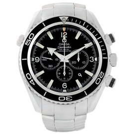 Omega Seamaster Planet Ocean 2210.50.00 Stainless Steel 45mm Mens Watch
