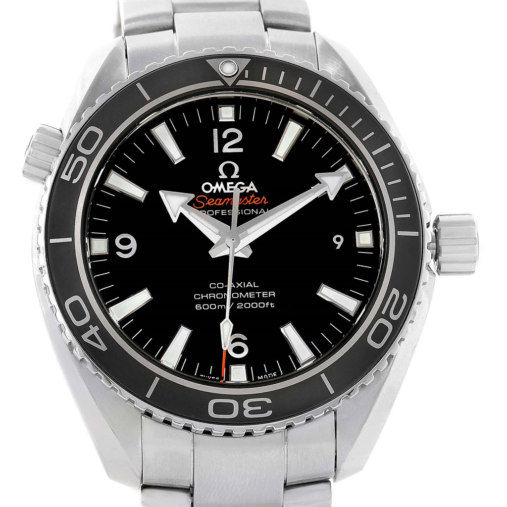 "Image of ""Omega Seamaster Planet Ocean 232.30.46.21.01.001 Stainless Steel"""