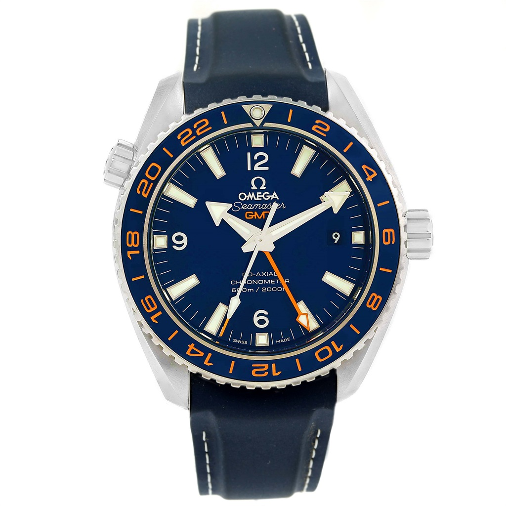 "Image of ""Omega Seamaster 232.32.44.22.03.001 Stainless Steel & Rubber Automatic"""