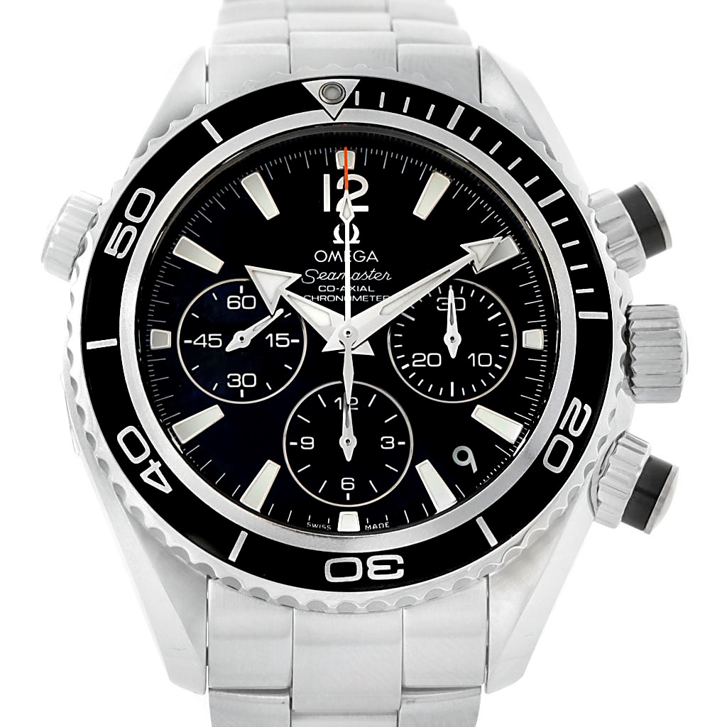 "Image of ""Omega Seamaster Planet Ocean 222.30.38.50.01.001 Stainless Steel"""