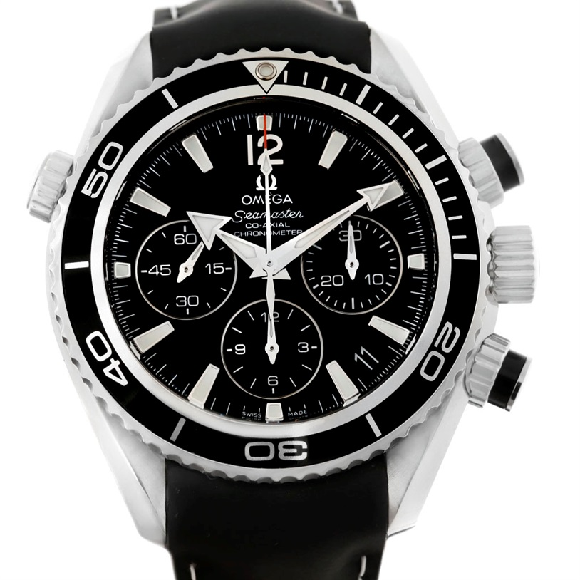 "Image of ""Omega Seamaster Planet Ocean 222.32.38.50.01.001 Stainless Steel"""