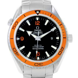 Omega Seamaster Planet Ocean 2208.50.00 Stainless Steel Automatic 42mm Mens Watch