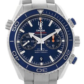Omega Seamaster Planet Ocean 232.90.46.51.03.001 Titanium Automatic 45.5mm Mens Watch