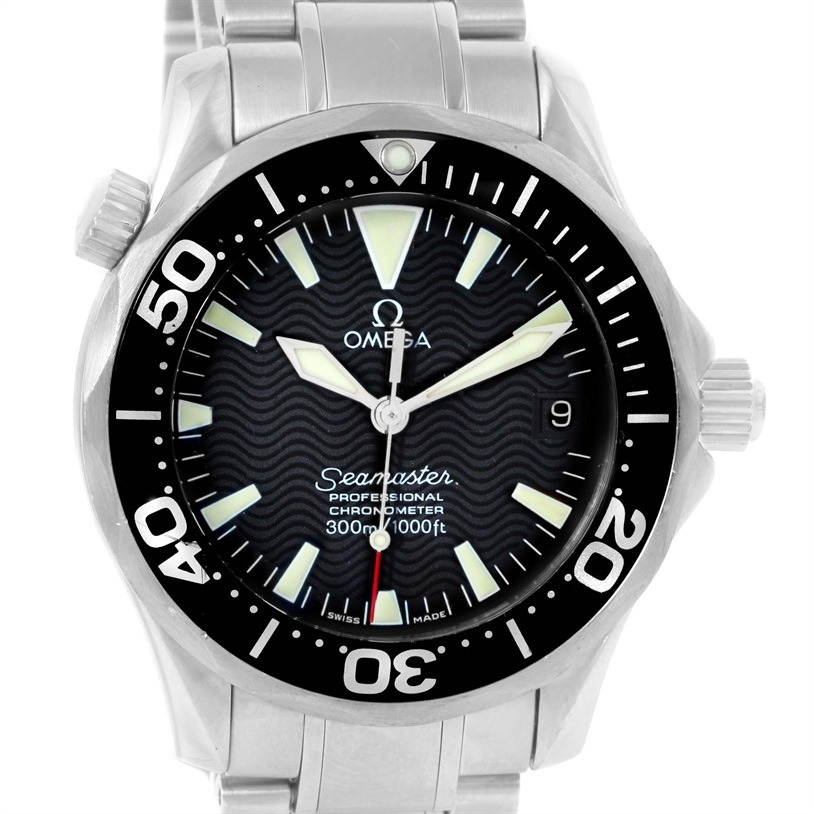 "Image of ""Omega Seamaster 2252.50.00 Stainless Steel Automatic 36.25mm Unisex"""