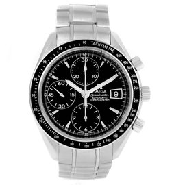 Omega Speedmaster 3210.50.00 Stainless Steel Black Dial Automatic 40mm Mens Watch