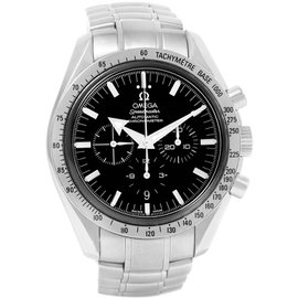 Omega Speedmaster 3551.50.00 Stainless Steel Black Dial Automatic 42mm Mens Watch