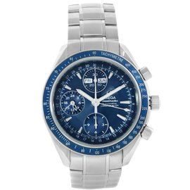 Omega Speedmaster 3212.80.00 Stainless Steel Blue Dial Automatic 40mm Mens Watch