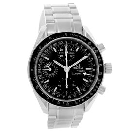 Omega Speedmaster 3520.50.00 Stainless Steel & Black Dial 39mm Mens Watch