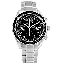 Omega Speedmaster Day-Date 3520.50.00 Stainless Steel Black Dial Automatic 39mm Mens Watch