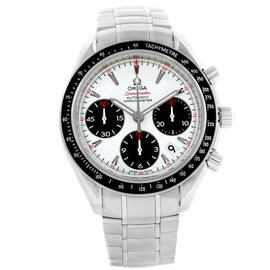 Omega Speedmaster 323.30.40.40.04.001 Stainless Steel White Dial Automatic 40mm Mens Watch