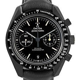 Omega Speedmaster 311.92.44.51.01.004 Black Ceramic & Leather Authomatic 44.25mm Mens Watch