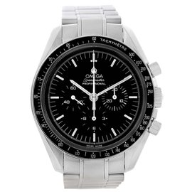 Omega Speedmaster 3570.50.00 Stainless Steel & Black Dial 42mm Mens Watch