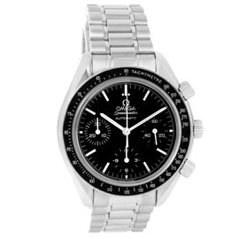 Omega Speedmaster 3539.50.00 Stainless Steel Black Dial Automatic 39mm Mens Watch