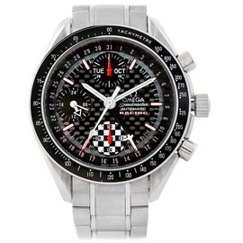 Omega Speedmaster 3529.50.00 Stainless Steel & Black Dial 39mm Mens Watch