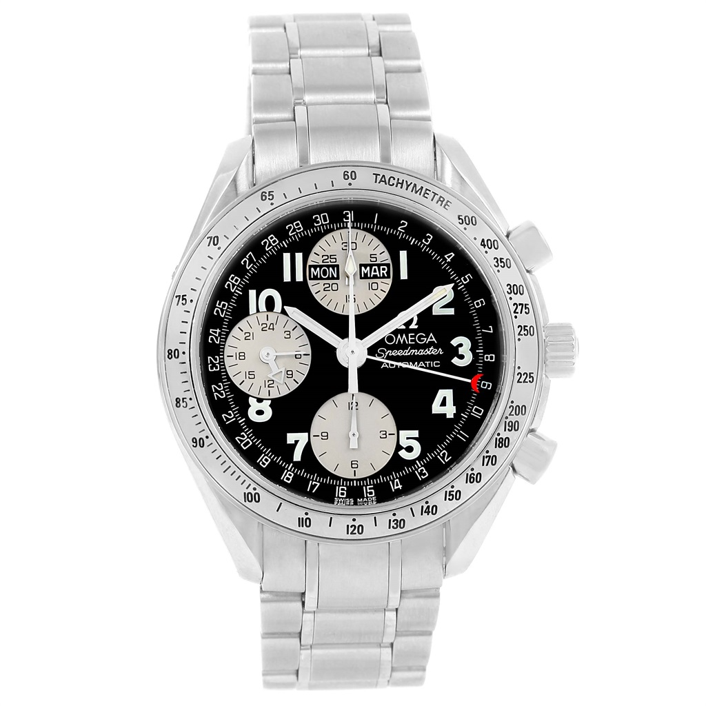 "Image of ""Omega Speedmaster 3523.51.00 Stainless Steel Automatic 39mm Mens Watch"""