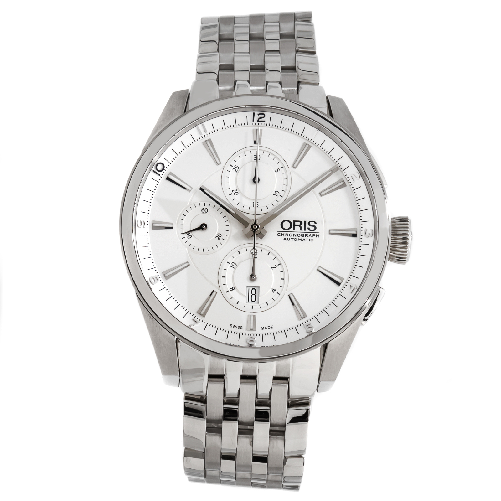 """Image of """"Oris Artix Chronograph 674 7644 4051Mb Stainless Steel Automatic 44mm"""""""