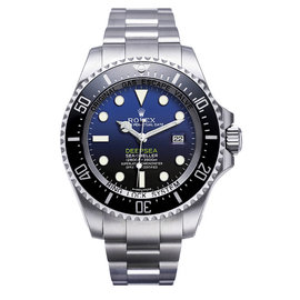 Rolex Deepsea Custom Blue Dial 116660 Mens Watch