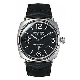Panerai Radiomir Stainless Steel / Leather 45mm Mens Watch