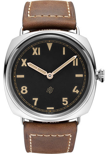"Image of ""Panerai Radiomir Stainless Steel / Leather with Black Dial 47mm Mens"""