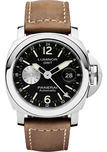 "Image of ""Panerai Luminor Pam01088 Stainless Steel / Leather Automatic 44mm Mens"""