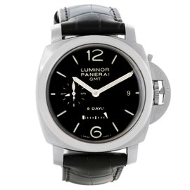 Panerai Luminor PAM00233 Stainless Steel & Black Dial 44mm Mens Watch