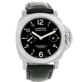 Panerai Luminor Marina PAM00164 Stainless Steel Automatic 44mm Mens Watch