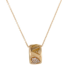 Pasquale Bruni Amore 18K Rose Gold Diamond Ring Pendant Necklace