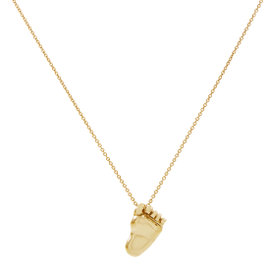 Pasquale Bruni Orme 18K Yellow Gold Foot Pendant Necklace