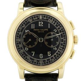 Patek Philippe 5070J Chronograph 18K Yellow Gold Mens Watch