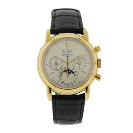 Patek Philippe Perpetual Calendar 3970 Gold Mens Watch