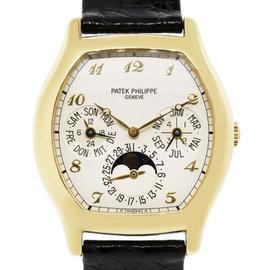 Patek Philippe Perpetual 5040J 18K Yellow Gold 36mm Mens Watch