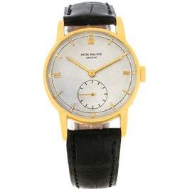 Patek Philippe Calatrava 2430 18K Yellow Gold 35mm Mens Watch