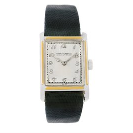 Patek Philippe Classic Platinum/Yellow Gold 25.3mm Mens Watch 1928