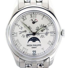 Patek Philippe 5036/1G 18K White Gold 37mm Mens Watch