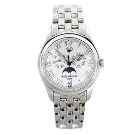 Patek Philippe 5036/1G Annual Calendar 18K White Gold Mens Watch