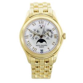 Patek Philippe 5036/1J Annual Calendar 18K Yellow Gold Mens Watch
