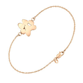 Sincerely Ginger Jewelry Rose Gold Paw Bracelet