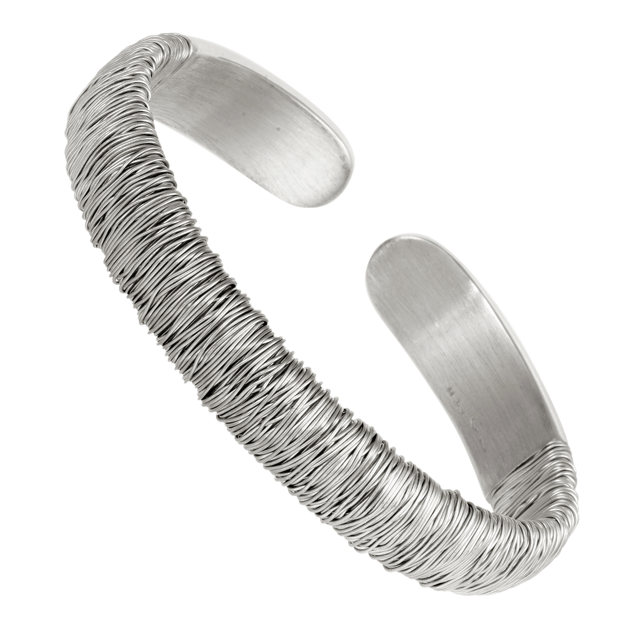 "Image of ""Pasquale Bruni 18K White Gold Bangle Bracelet"""