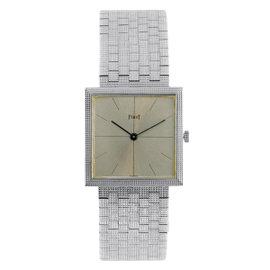 Piaget 73794 18K White Gold 25mm Watch