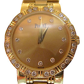 Piaget Dancer 80564 18K Yellow Gold 24mm Womens Watch