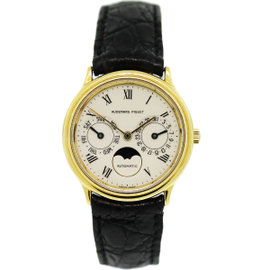 Audemars Piguet Classic Day-Date Moonphase 18K Yellow Gold Watch