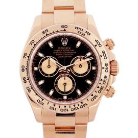 Rolex Daytona 116505 18K Rose Gold Automatic 40mm Mens Watch
