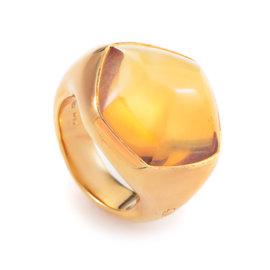 Pomellato 18K Yellow Gold Citrine Ring