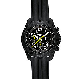 Outdoor Pioneer Chronograph Silicone Black Band
